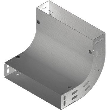Łuk korytka 90 stopni 100x50mm 1mm LUJ100H50 153510