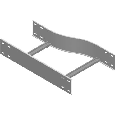 Redukcja drabinki lewa 400/300mm 150mm RLDSC400/300H150 433142