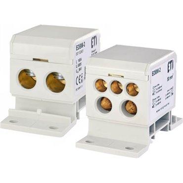 Blok rozdzielczy 160A 690V TH35 EDBM-2 001102401