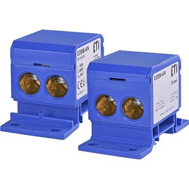 Blok rozdzielczy 192A 690V TH35 EDBM-4/N 001102414