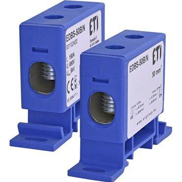 Zacisk 1-torowy na szynę TH EDBS-50B/N 150A 690V 001102420