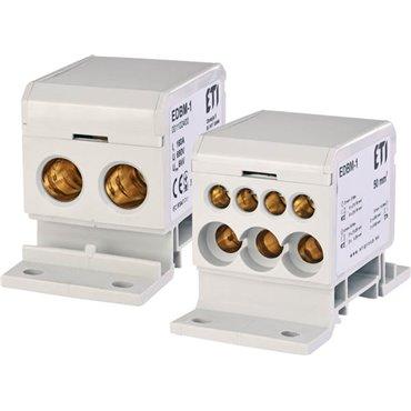 Blok rozdzielczy 160A 690V TH35 EDBM-1 001102400