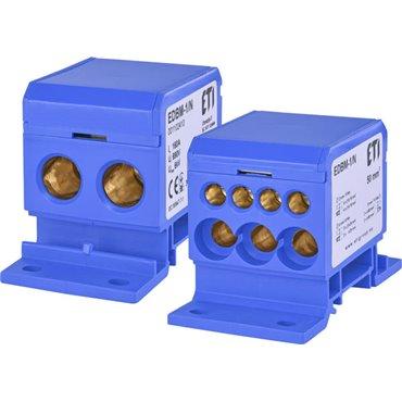 Blok rozdzielczy 160A 690V TH35EDBM-1/N 001102410