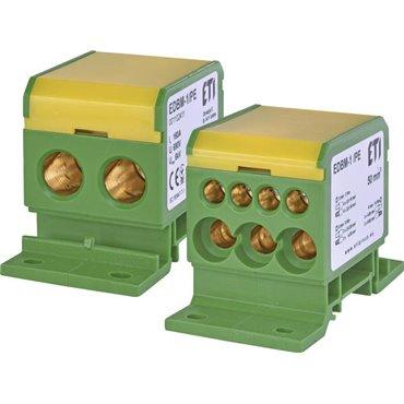 Blok rozdzielczy 160A 690V TH35 EDBM-1/PE 001102411