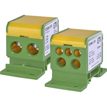 Blok rozdzielczy 160A 690V TH35 EDBM-2/PE 001102413