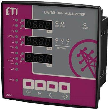 Analizator parametrów sieci 3x400V+N ENA3 004656578