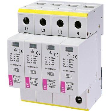 Ogranicznik przepięć C 4P 275V 20kA ETITEC-C-275/20 002440395