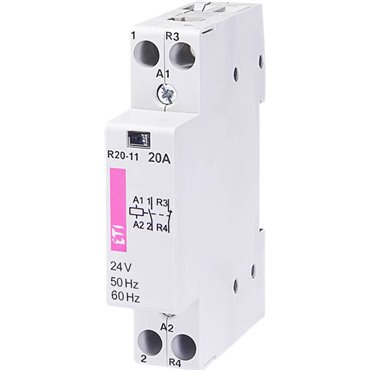 Stycznik modułowy 2P 20A 1Z 1R 24V AC R 20-11 24V 002461221