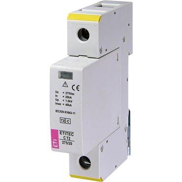 Ogranicznik przepięć klasy C 1P 20kA ETITEC C T2 275/20 1+0 002440393
