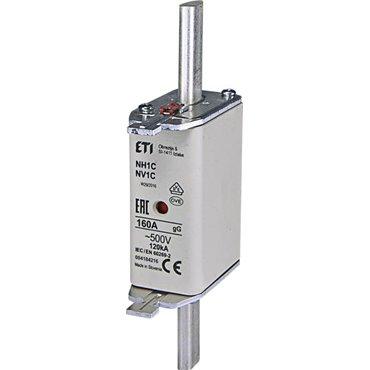 Wkładka topikowa przemysłowa zwłoczna KOMBI NH1C gG 160A/500V WT-1C 004184216