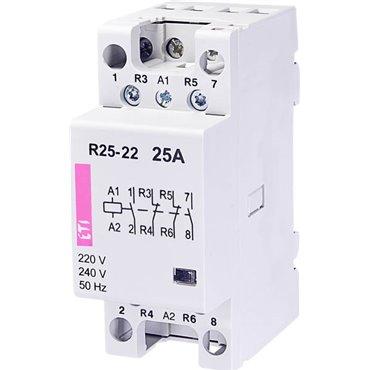 Stycznik modułowy 25A 230V AC 2Z 2R R 25-22 230V 002462340