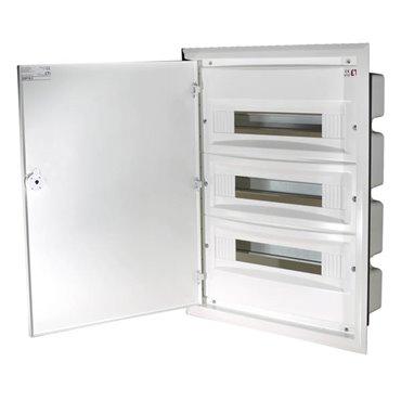 Rozdzielnica modułowa 3x18 podtynkowa /dzwi metal/ IP40 ERP18-3 DIDO 001101212