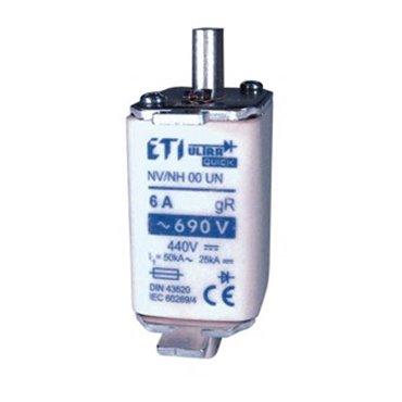 Wkładka bezpiecznikowa NH00 6A gR 690V M00UQ U-N 004331201