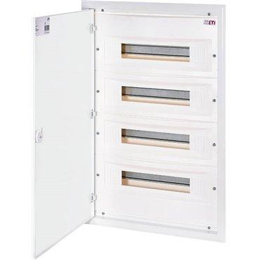 Rozdzielnica modułowa 4x18 podtynkowa /drzwi metalowe/ IP40 ERP18-4 DIDO 001101214