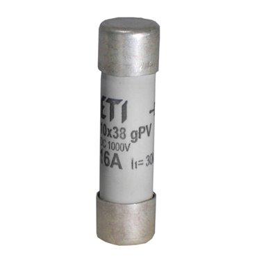 Wkladka bezpiecznikowa cylindryczna PV 10x38mm 12A gPV 1000V DC CH10 002625106