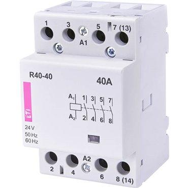 Stycznik modułowy 40A 24V AC 4Z 0R R 40-40 24V 002463411
