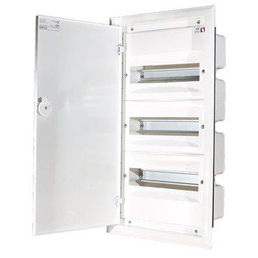 Rozdzielnica modułowa 3x12 podtynkowa /dzwi metal/ IP40 ERP12-3 DIDO 001101204