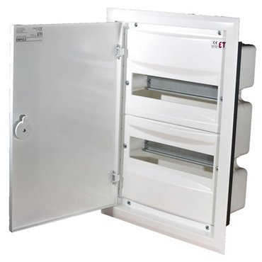 Rozdzielnica modułowa 2x12 podtynkowa /dzwi metal/ IP40 ERP12-2 DIDO 001101202