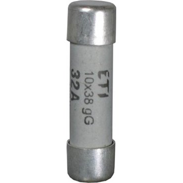 Wkładka bezpiecznikowa cylindryczna 10x38mm 25A aM 400V CH10 002621013