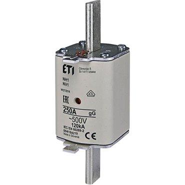 Wkładka bezpiecznikowa KOMBI NH1 250A gG/gL 500V WT-1 004184219