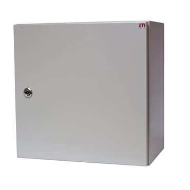 Obudowa metalowa 400x400x250mm IP65 z płytą ETIBOX GT 40-40-25 001102110