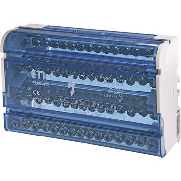Blok rozdzielczy 125A 4P 15-zaciskowy EDB-415 001102305