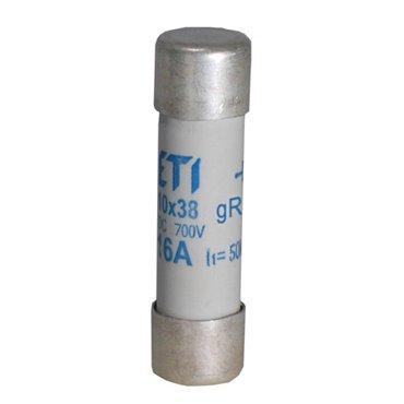 Wkładka bezpiecznikowa cylindryczna PV 10x38mm 16A gR 700V AC/DC CH10 002625023