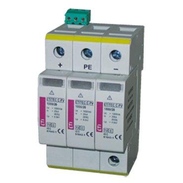 Ogranicznik przepięć PV C 1000V DC 20kA ETITEC S C-PV 1000/20  002445308