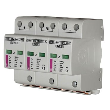 Ogranicznik przepięć PV B 1000V DC 12kA ETITEC S B-PV 1000/12,5 002440264