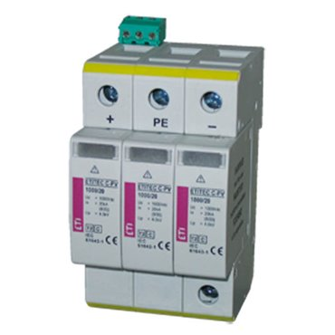 Ogranicznik przepięć PV C 600V DC 20kA ETITEC S C-PV 600/20  002445306