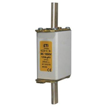 Wkładka bezpiecznikowa NH0 100A gPV 1000V DC 004110387