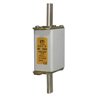 Wkładka bezpiecznikowa NH0 50A gPV 750V DC 004110311