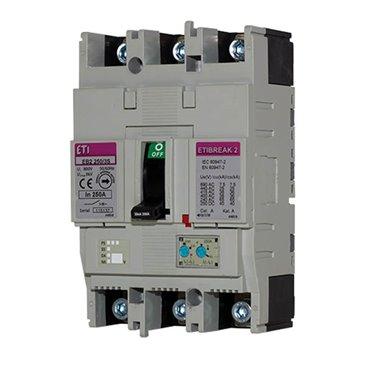 Wyłącznik mocy 4P 125A 25kA /wyzwalacz termo-magnetyczny/ EB2 125/4L 004671032