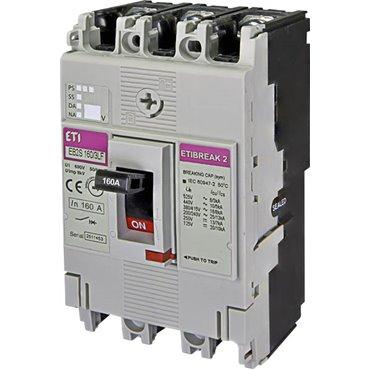 Wyłącznik mocy 3P 160A 16kA /bez regulacji/ EB2S 160/3LF 004671811