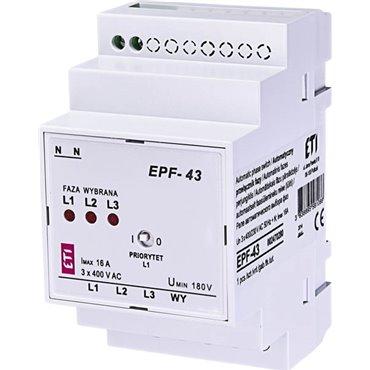Automatyczny przełącznik faz 16A 1Z EPF-43 002470280