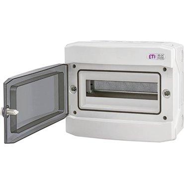 Rozdzielnica modułowa 1x12 natynkowa /transparentna/ IP65 ECH-12PT DIDO 001101062