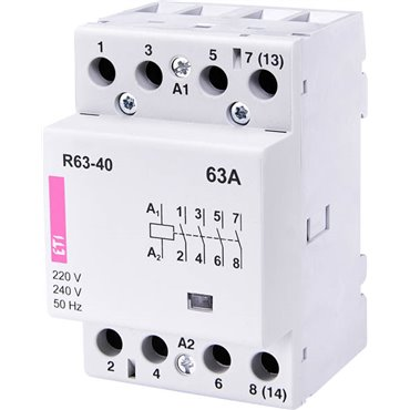 Stycznik modułowy 63A 230V AC 4Z 0R R 63-40 002463450