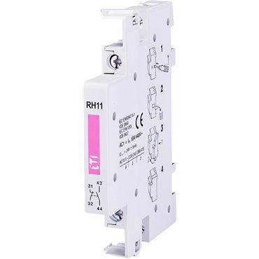 Styk pomocniczy 1Z 1R montaż boczny /do R25, R40, R63/ RH11 002461101
