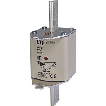 Wkładka bezpiecznikowa KOMBI NH3C 400A gG 500V WT-3C 004186224
