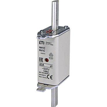 Wkładka bezpiecznikowa KOMBI NH1C 63A gG/gL 500V WT-1C 004184212