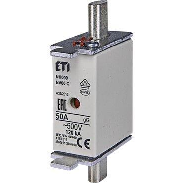 Wkładka bezpiecznikowa KOMBI NH00C 50A gG/gL 500V WT-00C 004181211