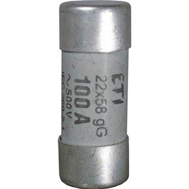 Wkładka bezpiecznikowa cylindryczna 22x58mm 80A gG 500V CH22 002640023