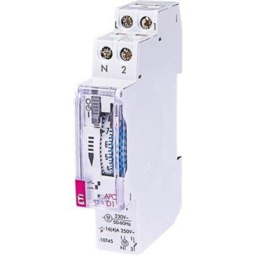 Programator czasowy analogowy 1P 16A 230V AC dobowy APC-D1 002472001