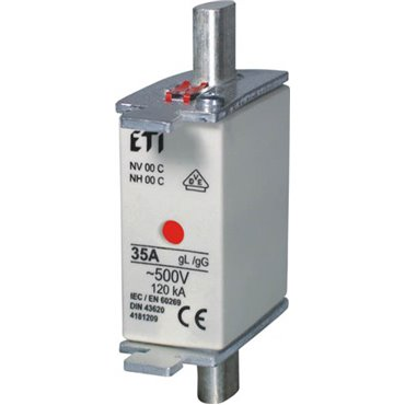 Wkładka bezpiecznikowa KOMBI NH00C 125A gG/gL 500V WT-00C 004181215