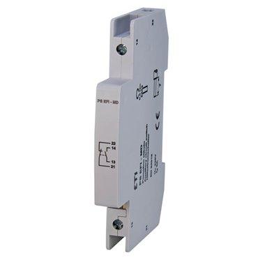 Styk pomocniczy 1Z+1R montaż boczny PS EFI - MD 002069001