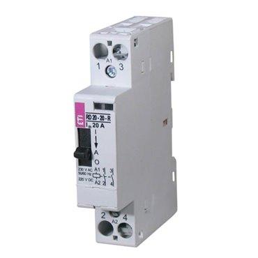 Stycznik modułowy 20A 230V AC 2Z 0R R20-20-R-230V AC 002464040