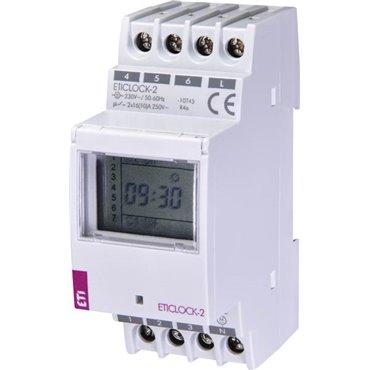 Cyfrowy programator czasowy 2-kanałowy ETICLOCK-2 002472012
