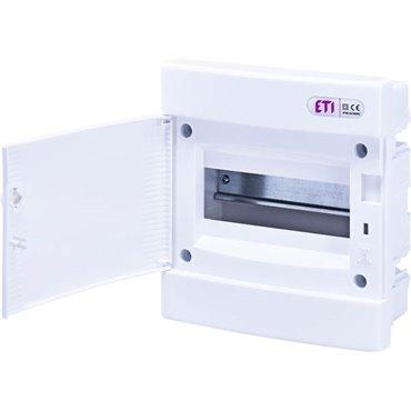 Rozdzielnica modułowa 1x8 podtynkowa /biała/ IP40 ECM8PO DIDO 001101014