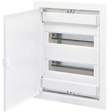 Rozdzielnica modułowa 24+4 podtynkowa /biała dzwi metal/ IP40 ECG28 DIDO 001101026