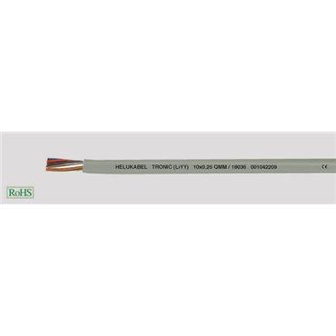 Przewód sterowniczy TRONIC (LiYY) 4x0,34 500V 18059 /bębnowy